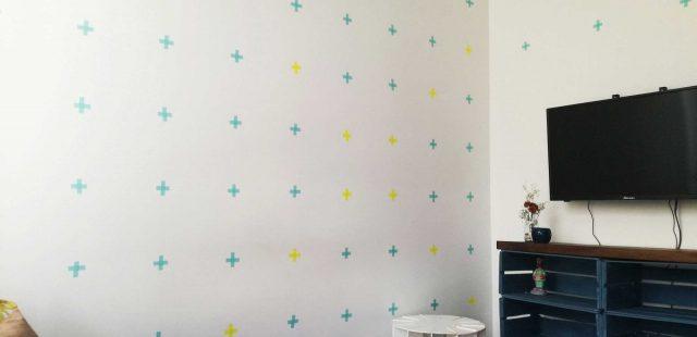 Tutorial: decora tu pared con washi tape