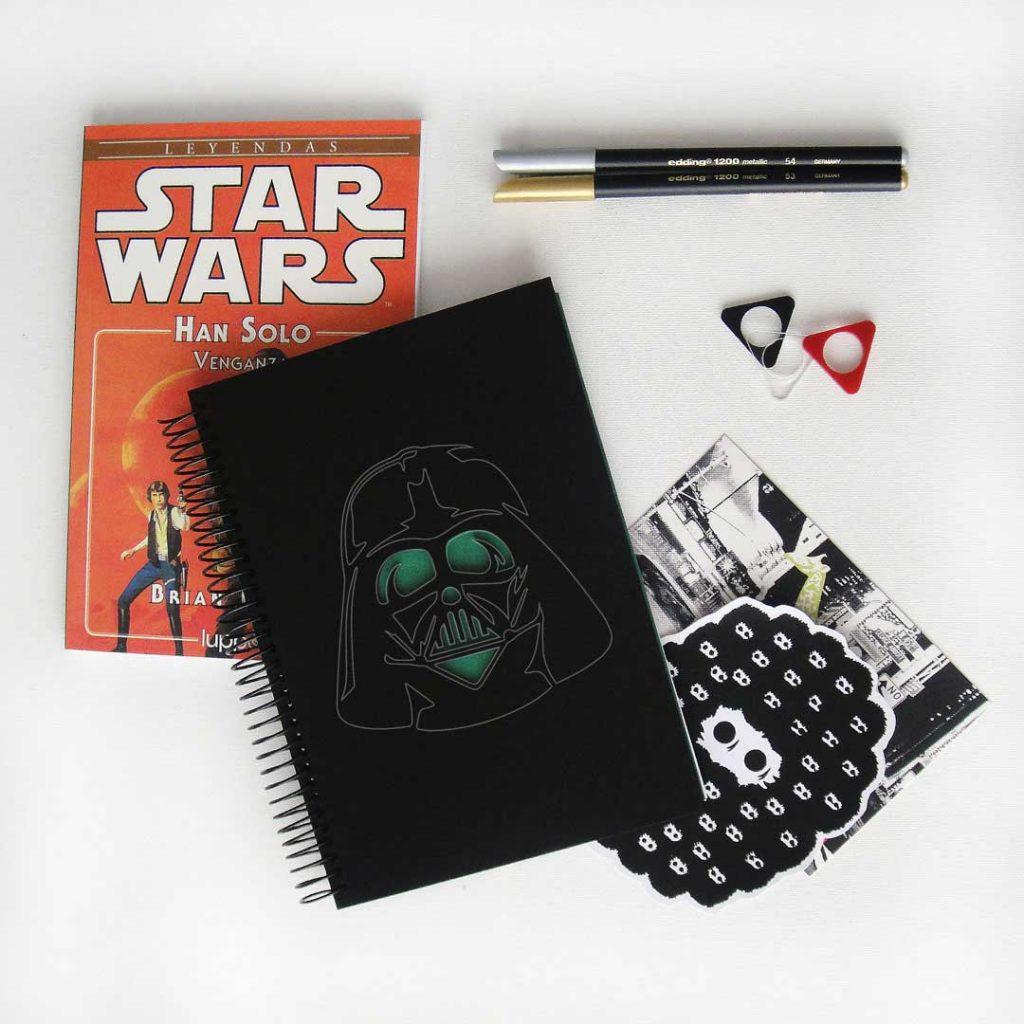 Cuaderno Darth Vader
