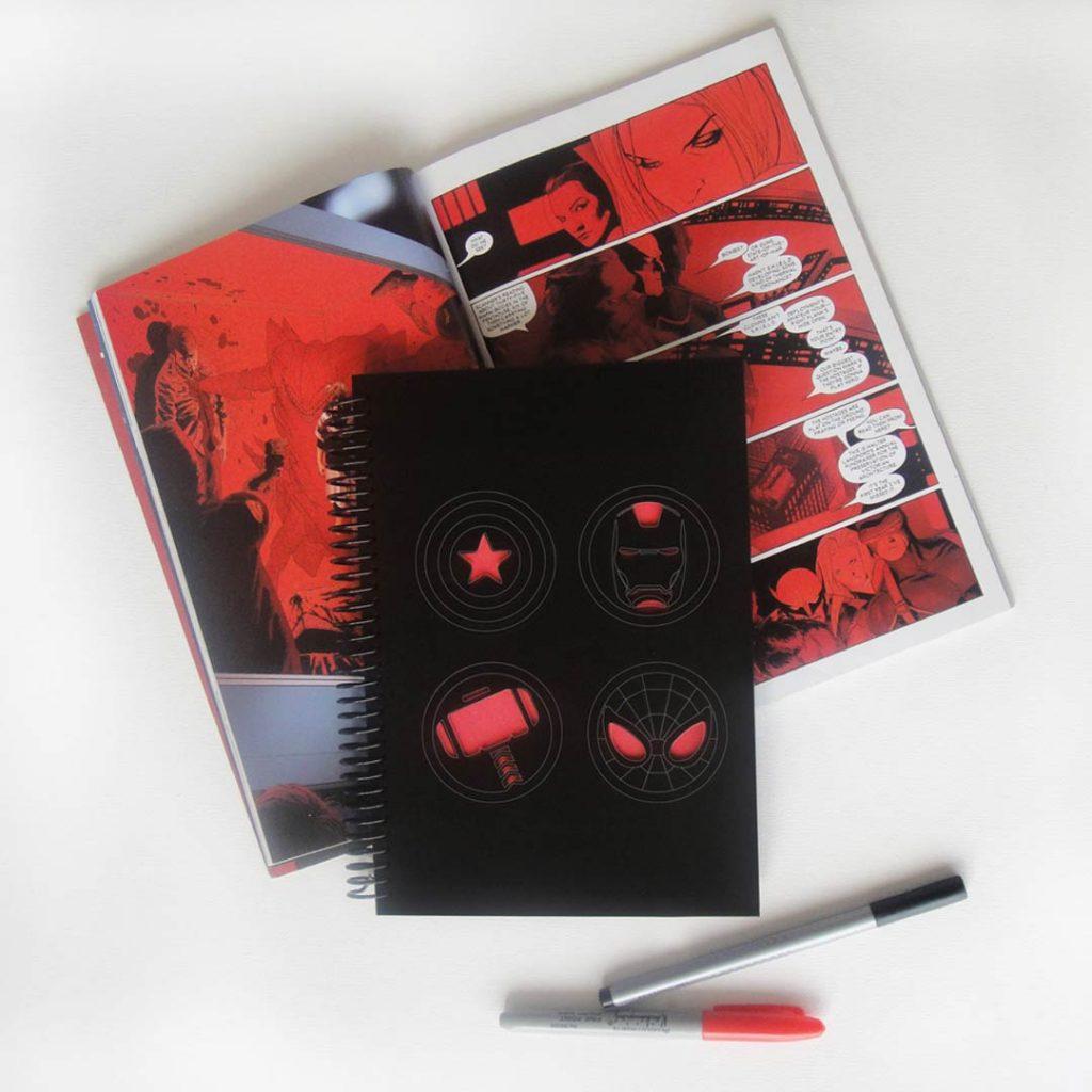 Cuadernos Avengers Infinity War