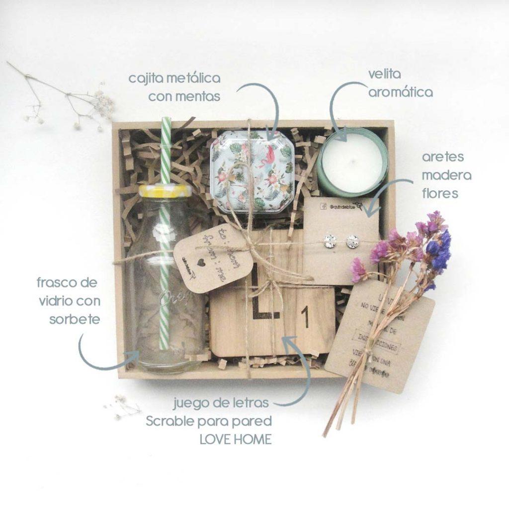 Caja de regalo vintage