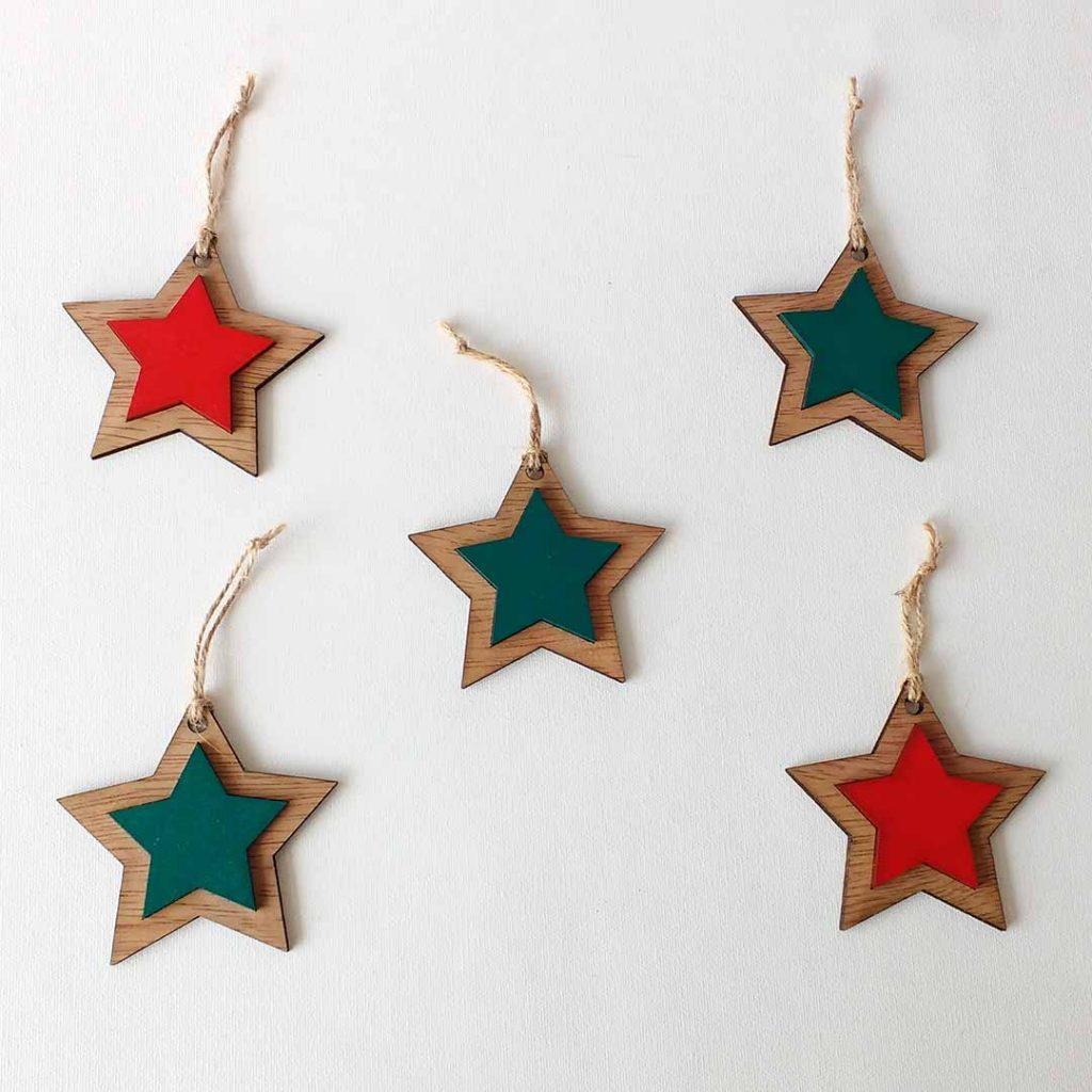 Bombillos de estrella
