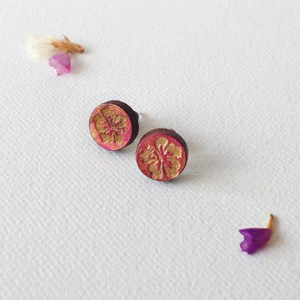 quindeblue-aretes-flor-hawaiana-comprar