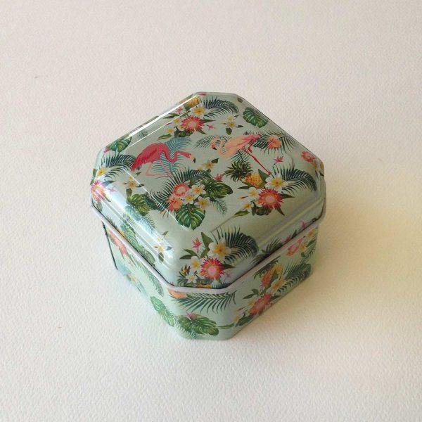 quindeblue-caja-regalo-oro-caja-mentas-flamingo