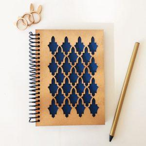 quindeblue-cuaderno-mudejar-a6-portada