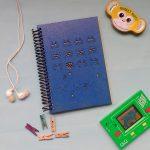 quindeblue-cuaderno-space-invader-a6-portada