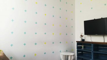 Tutorial: decora tu pared con washi tape