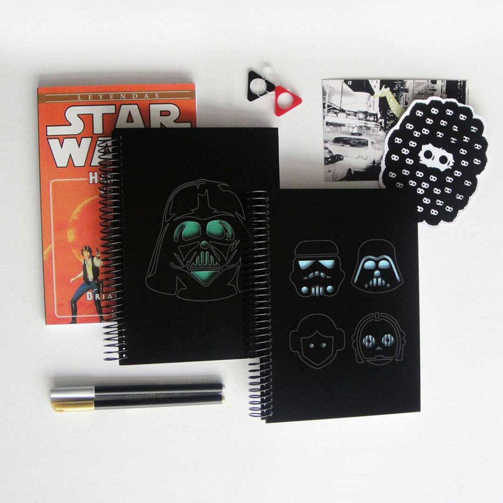 Cuadernos Star Wars
