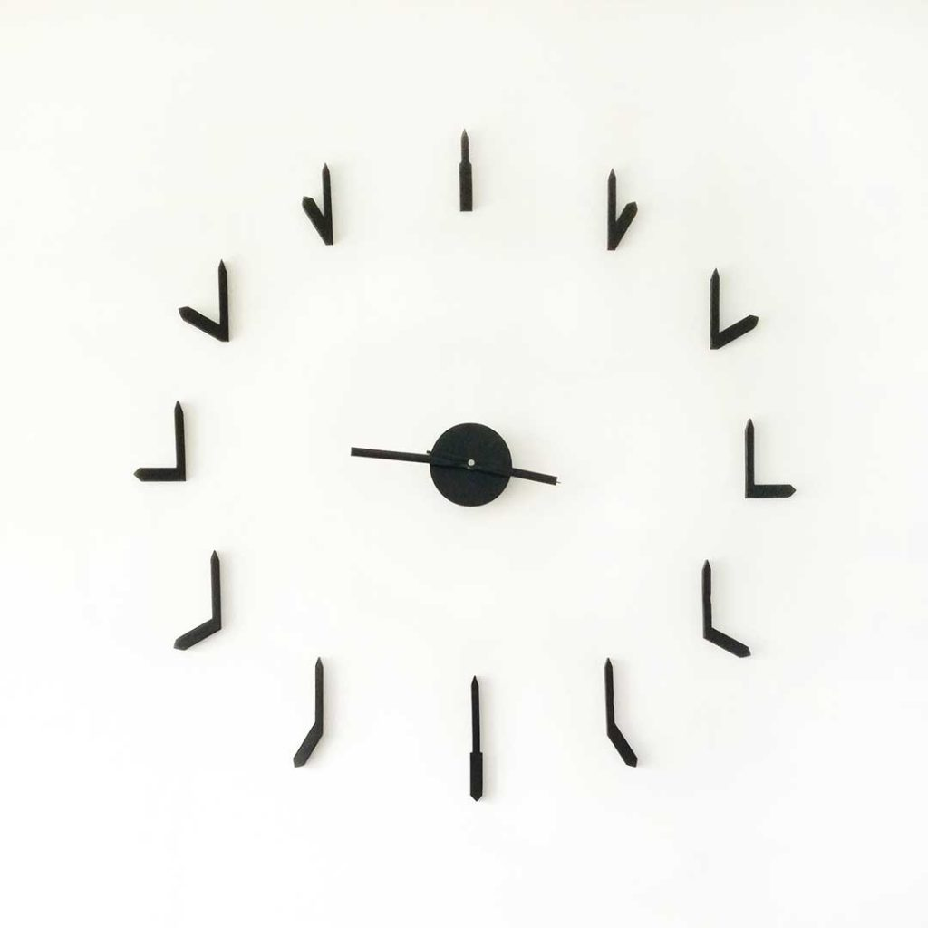 Reloj de pared minimalista